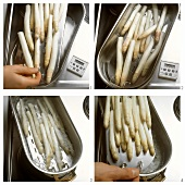 Cooking white asparagus