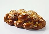 Plaited Almond-Yeast Loaf
