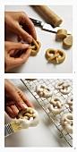 Baking cinnamon pretzels