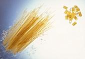 Uncooked Spaghetti Still Life