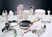 Assorted Kitchen Utensils and Appliances
