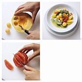 Fruit Salad with Citrus Fruits