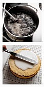 Baking poppy seed cake