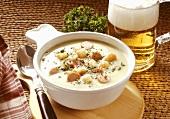 Hearty Pea Cream Soup