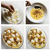 Egg gratin with horseradish