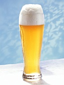 A Glass of Weissbier