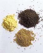 Mustard Seeds & Mustard Powder