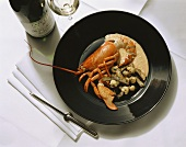 Lobster with Artichokes and Cauliflower