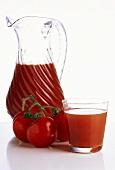 Tomato Juice with Fresh Tomatoes