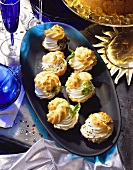 Cream-Puffs with Cream Cheese Stuffing