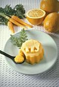 Carrot-Orange Flan