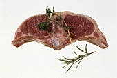 Lamb Chop with Rosemary