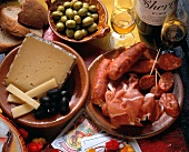 Cheese; Ham & Sausage From Spain