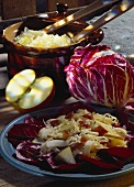 Sauerkraut-Apple Rodacchio Salad