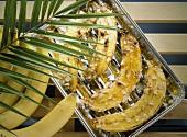 Grilled Honey Bananas