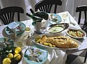 Fish Dinner for Ash Wednesday