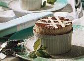 Cream-Passion Fruit Souffle