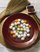 Fish Balls with Carrots & Cucumbers