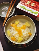 Snow Fungus Soup with Tangerines