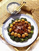 Pork with Sweet Chestnuts