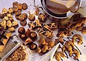 Christmas Baking with Chocolates