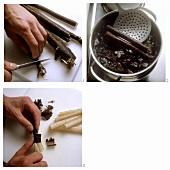 Preparing scorzonera