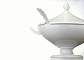 White Soup Tureen