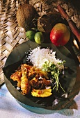 Exotic Chicken with Basmati Rice