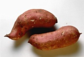 Two Fresh Red Yams