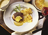 Chateaubriand with Potatoes au gratin