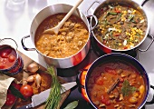 Three spicy Goulash Soups