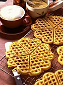 Sweet Carrot Waffles with Ginger