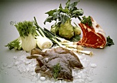 Vegetables; Meat & Fish
