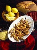 Gambas with Garlic Mayonnaise