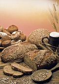 Assorted Whole Grain Bread and Rolls