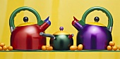 Colorful Kettles
