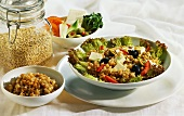 Barley Salad with Feta Cheese