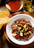 Mexican Ground Meat Pan Dish