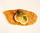 Breaded Veal Cutlet with Lemon