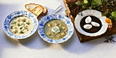 Soups from Saxony and Saxony-Anhalt