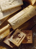 Rolling Pin and Cookie Cutters