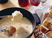 Fondue (classic cheese fondue from Switzerland)