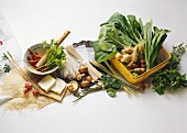 Ingredients for Asian Appetizers