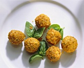 Deep Fried Veal Meatballs