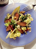 Roasted Hare Fillet on mixed Lettuce