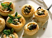 Vol-au-vents with morels & calf's sweetbread