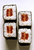 Nori Maki with Pumpkin & Tuna