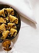 Spanish Zucchini Tortilla Snack