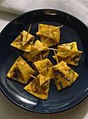 Spanish Mushroom Tortilla Snack