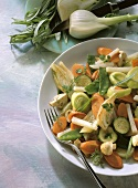 Lukewarm Vegetable Salad
